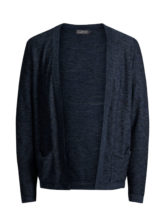 JACK & JONES Lässige Strickjacke Herren Blau