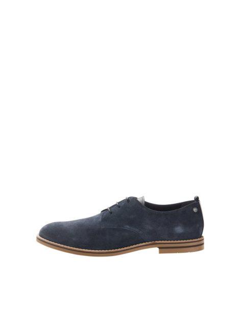 JACK & JONES Wildleder Business Schuhe Herren Blau