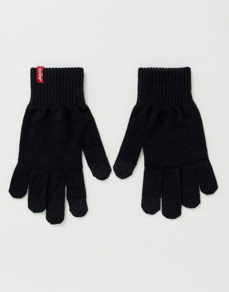 Levi's - Ben - Touchscreen-Handschuhe in Schwarz