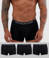 Polo Ralph Lauren - 3er Packung schwarze Unerhosen