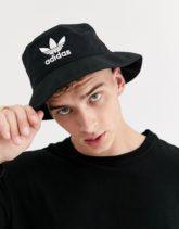 adidas Originals - Anglerhut mit Logo in Schwarz