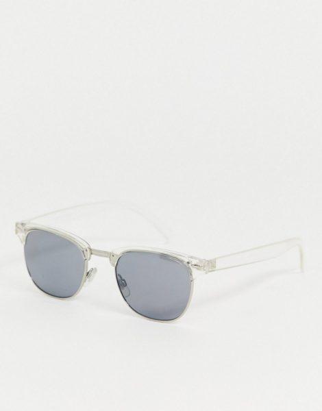 AJ Morgan - Eckige Sonnenbrille mit klaren Gläsern-Transparent