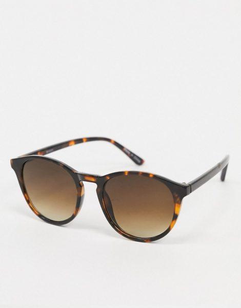 Accessorize - Polly - Runde Sonnenbrille aus Schildpatt-Braun
