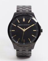 Armani Exchange - AX2144 - Armbanduhr aus Edelstahl in Schwarz