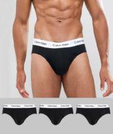 Calvin Klein - 3er Packung Slips-Schwarz