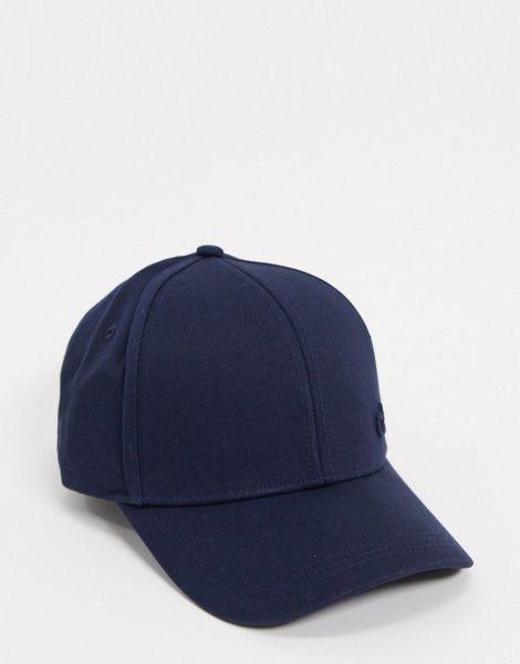 Calvin Klein - Kappe mit seitlichem Logo in Marine-Navy