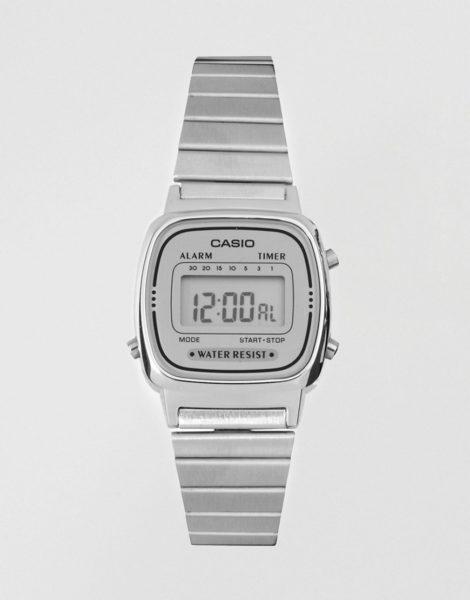 Casio - LA670WEA-7EF - Digitale Armbanduhr in Silber