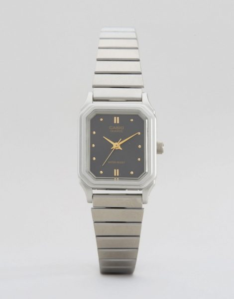 Casio - LQ-400D-1AEF - Armbanduhr im Vintage-Style-Silber