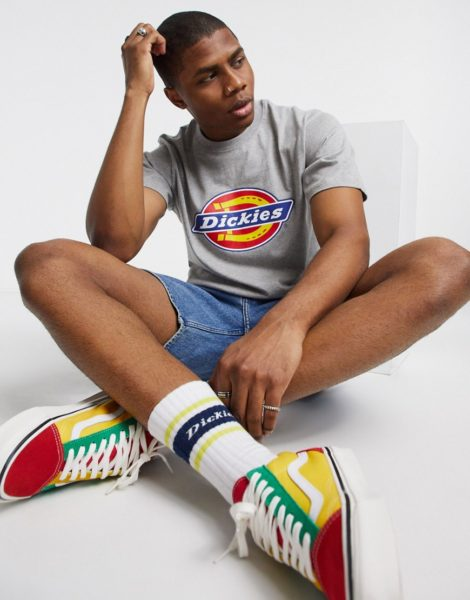 Dickies - Horseshoe - Graues T-Shirt