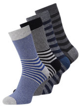 JACK & JONES 4er-pack Socken Herren Grau