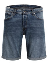 JACK & JONES Rick Original Am 677 Sts Jeansshorts Herren Blau