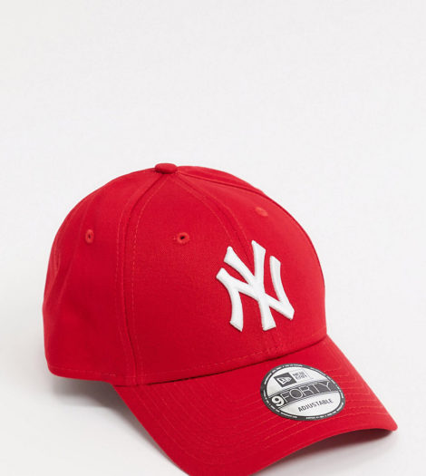 New Era - 9Forty - Kappe in Rot