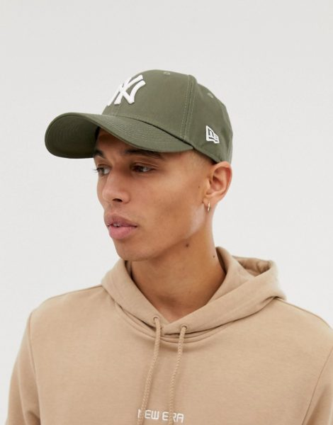 New Era - MLB 9Forty NY - Verstellbare Kappe in Grün