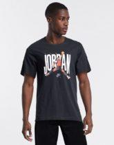 Nike - Jordan Jumpman - Schwarzes T-Shirt mit Logo