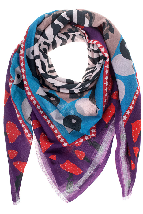 Print Mix Heart Beat Multicolor