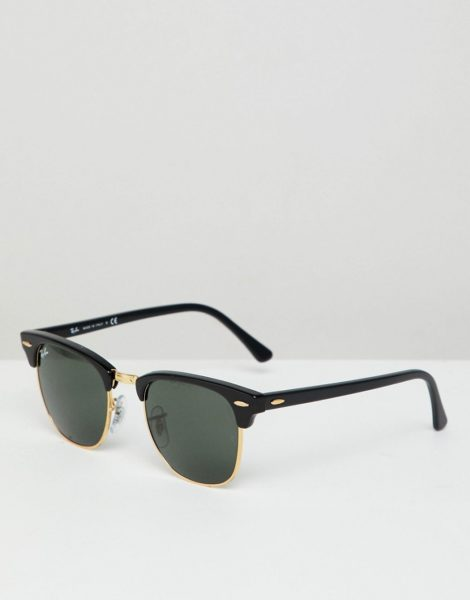 Ray-Ban - Clubmaster-Sonnenbrille, 0RB3016-Schwarz