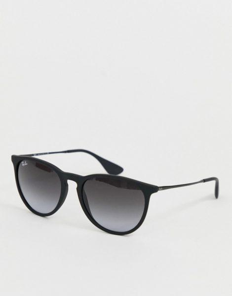 Ray-Ban - Erika - Schwarze Sonnenbrille mit Keyhole-Design, RB4171 622/8G