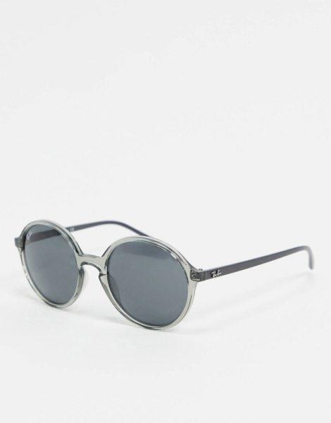 Ray-ban - Runde Sonnenbrille in Grau, ORB4304