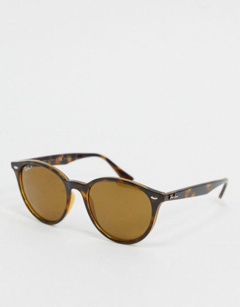 Ray-ban - Runde Sonnenbrille in Schildpattoptik, ORB4305-Braun