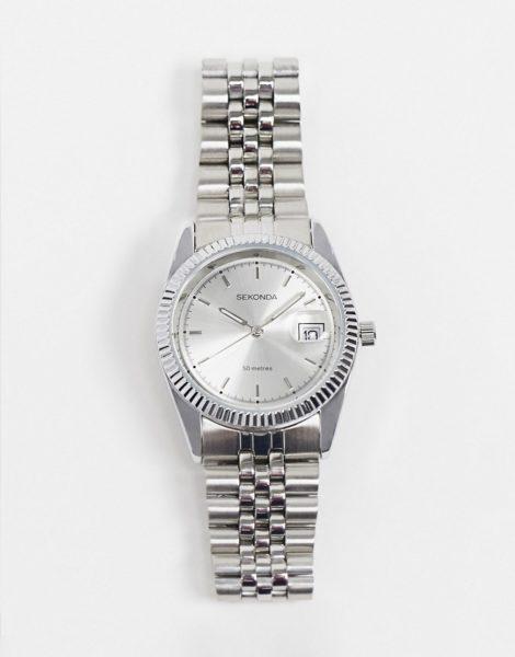 Sekonda - Armbanduhr mit Zifferblatt in Silber