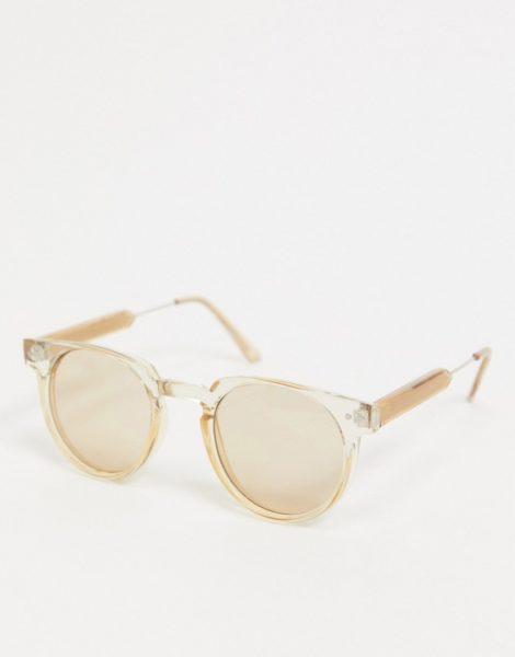 Spitfire - Teddy Boy - Runde Sonnenbrille in Hellbraun