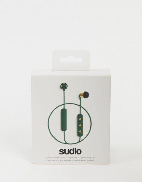 Sudio Tio - Kabellose Kopfhörer in Dunkelgrün-Keine Farbe