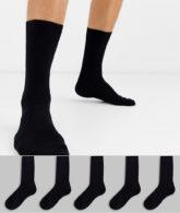 Topman - 5er-Pack Socken in Schwarz