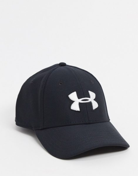 Under Armour - Schwarze Baseball-Kappe