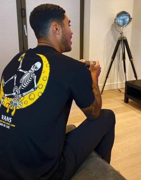 Vans - Moonshine - T-Shirt in Schwarz