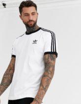 adidas Originals - Weißes T-Shirt mit 3er Streifen