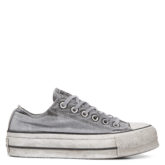 Chuck TaylorAll Star Lift Smoked Canvas Low Top Grey