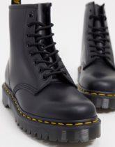 Dr Martens - 1460 - Bex-Stiefel mit 8 Ösen in Schwarz