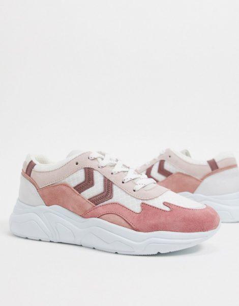 Hummel - Hive Braga - Sneaker mit dicker Sohle in Rosa