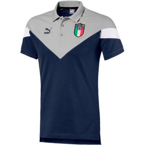 PUMA Italien 2021 Poloshirt Herren