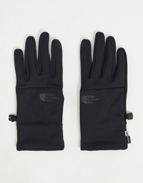 The North Face - Etip - Schwarze Handschuhe aus recycelten Materialien