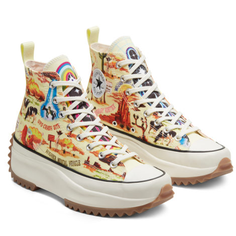 Unisex Twisted Resort Run Star Hike High Top
