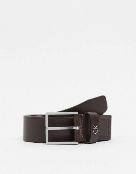 Calvin Klein - Eleganter Gürtel in Braun