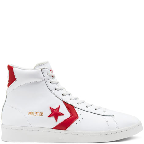 OG Pro Leather High Top Red