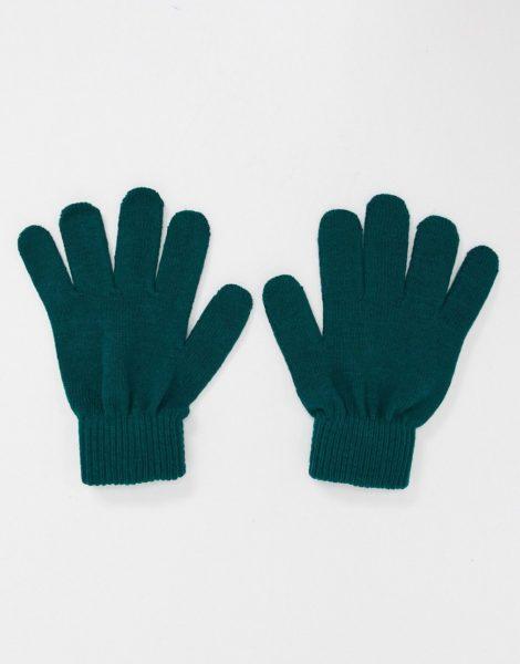 Boardmans - Handschuhe aus Recycling-Garnen in Tannengrün
