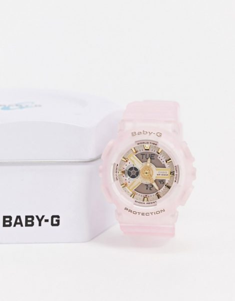 Casio - Baby G - BA-110SC-4AER - Armbanduhr aus Kunstharz in Rosa
