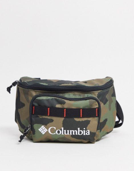 Columbia - Zigzag - Hüfttasche mit Military-Muster-Grün