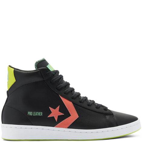 Hi-Vis Pro Leather High Top