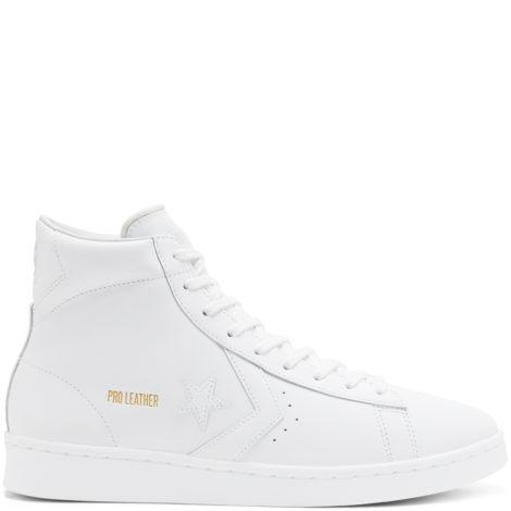 OG Pro Leather High Top White