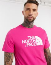 The North Face - Easy - T-Shirt in Rosa