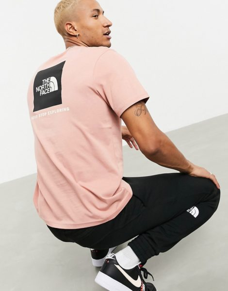 The North Face - Red Box - T-Shirt in Rosa