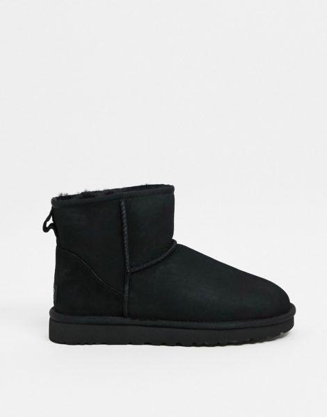UGG - Classic Mini - Schwarze Stiefel