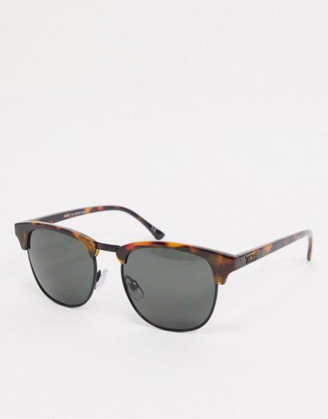 Vans - Dunville - Sonnenbrille mit Gepardenmuster in Schildpattoptik-Braun