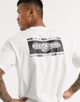 adidas Training - Weißes T-Shirt mit Logo
