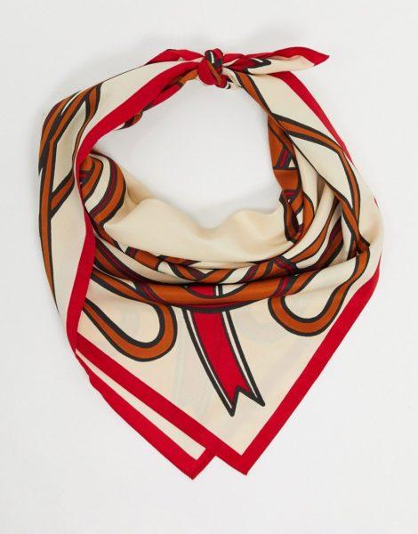 & Other Stories - Bunter, leichter Schal aus recycelten Materialien-Mehrfarbig