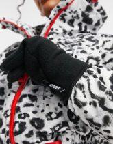 ASOS 4505 - Ski-Handschuhe aus Polarfleece-Schwarz